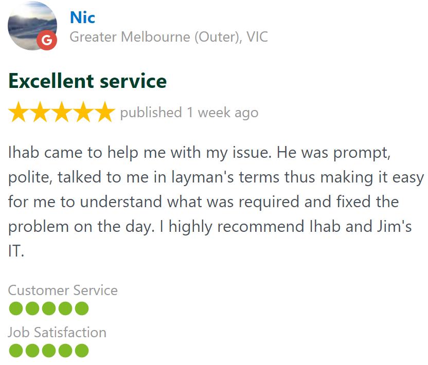 nic laptop repair melbourne review